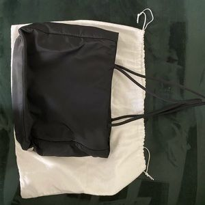 Prada nylon tote / shoulder bag